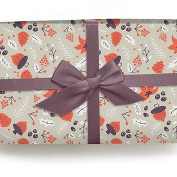 Acorns - Wrapping Paper