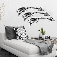 Tribal Arrow Wall Decal Vinyl Stickers Decals Decor Indie Nursery Bedding Bedroom Art Design Interior NS953