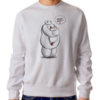 Baymax Hairy Baby 345 Sweater Man and Sweater Woman