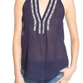 Paige Denim 'Tyra' Embroidered Tank | Nordstrom