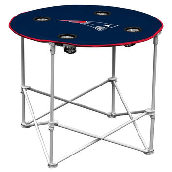 New England Patriots NFL Portable Round Table