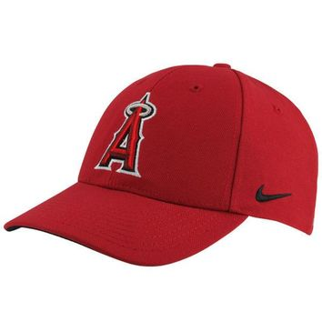 Men's Los Angeles Angels of Anaheim Nike Red Wool Classic Adjustable Dri-FIT Hat
