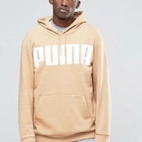 Puma | Puma Oversized Hoody In Tan at ASOS