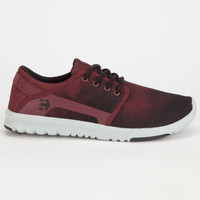 Etnies Scout Mens Shoes Red/Black  In Sizes
