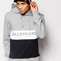 Billionaire Boys Club | Billionaire Boys Club Hoodie In Cut & Sew at ASOS