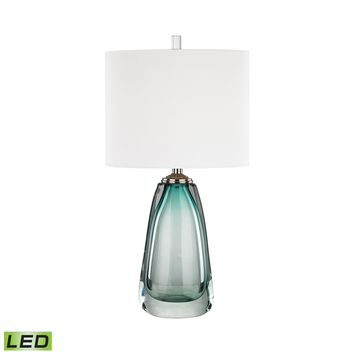 D3162-LED Ms. Aqua LED Table Lamp