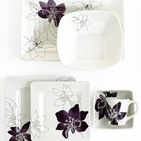 Laurie Gates Dinnerware, Anna Plum Collection - Casual Dinnerware - Dining & Entertaining - Macy's