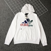 Autumn and Winter Adidas Sweater Hoodie for Women Men
