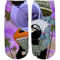 Kakashi Hatake Po Up Ankle Socks