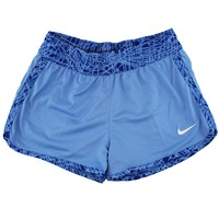 Nike Girls Youth Reversible Running Shorts - Carolina