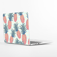 Low Poly Pineapples Laptop Skin