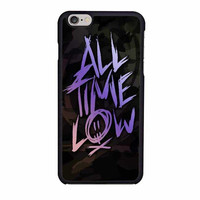 all time low logo colorfull iphone 6 6s 4 4s 5 5s 6 plus cases
