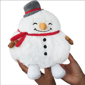 Mini Squishable Snowman: An Adorable Fuzzy Plush to Snurfle and Squeeze!