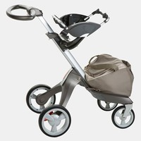 Toddler Stokke Xplory Stroller to Graco Car Seat Adaptor