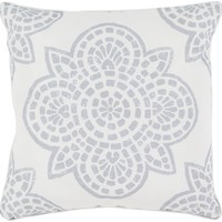 Hemma Throw Pillow Gray, Neutral
