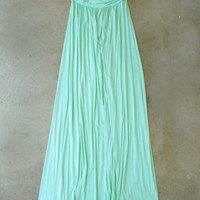 Great Distance Maxi Dress in Mint [4147] - $46.00 : Vintage Inspired Clothing & Affordable Summer Frocks, deloom | Modern. Vintage. Crafted.