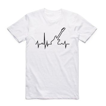 Guitar Heartbeat - Unisex T-shirt