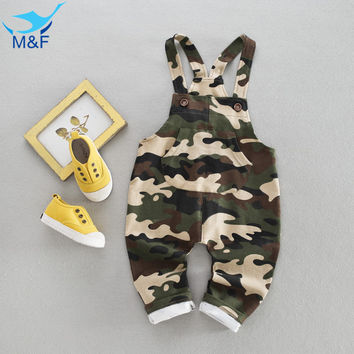 M&F Girl Boy Overalls Cute Cartoon Baby PP Pants 2017 Kids Infant Toddler Overall Baby Boy and Girl Casual Children's Trousers
