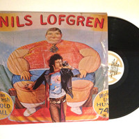 OCTOBER SALE Nils Lofgren Self Titled Album 1975 Vinyl Record Rock and Roll Crook Can't Buy A Break Classic Rock