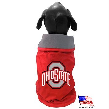 Ohio State Weather-Resistant Blanket Pet Coat
