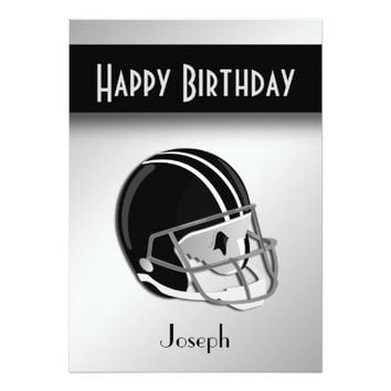 Football Birthday Party Invitation