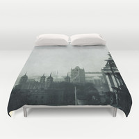 London Duvet Cover by Ingrid Beddoes