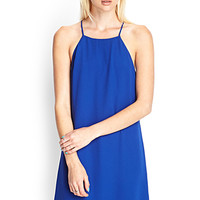 FOREVER 21 Cami Shift Dress Royal