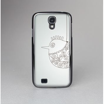 The Simple Vintage Bird on a String Skin-Sert Case for the Samsung Galaxy S4