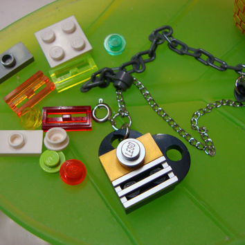 LEGO Heart Jewelry Bracelet, Build and Wear with Extra Pieces and Free Gift