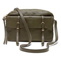 Banana Republic Sunset Camera Crossbody Size One Size - Dark olive