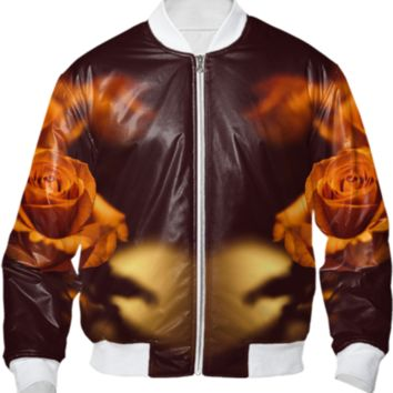 The gentleman - Bomber jacket created by HappyMelvin | Print All Over Me