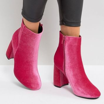 Truffle Collection Curved Heel Boot at asos.com