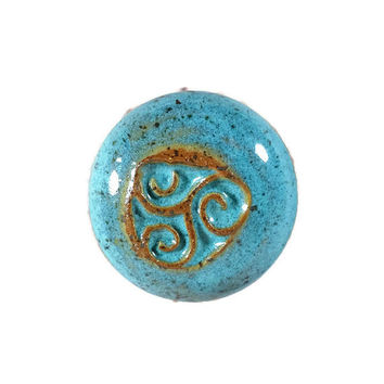 Handcrafted Pottery Cabinetry Knobs Order them to match your light