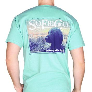 Gauge Pocket Tee in Chalky Mint by Southern Fried Cotton