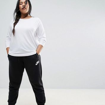 Nike Plus Rally Regular Fit Sweat Pants In Black at asos.com