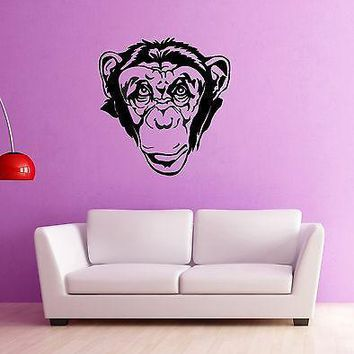 Wall Stickers Vinyl Decal Monkey Jungle Animal Nursery for Kids Room Unique Gift (ig910)