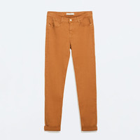 5 pocket skinny trousers