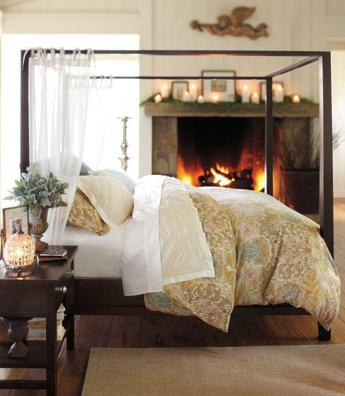Pottery Barn Farmhouse Canopy Bed From Pottery Barn Home