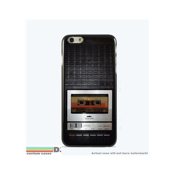 Retro Taperecorder, Custom Phone Case for iPhone 4/4s, 5/5s, 6/6s, 6/6s+ and iPod Touch 5