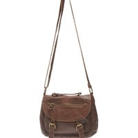 Soft Faux Leather Crossbody Bag | Wet Seal