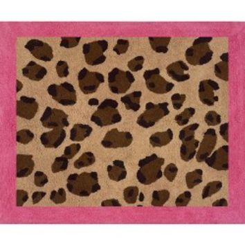 Sweet JoJo Designs Cheetah Girl Accent Floor Rug-... : Target