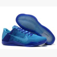 Men Kobe XI Weave Nike Basketball Grender Shoe Gradient Blue