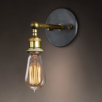Vintage Loft Metal Wall Lamp Fixtures