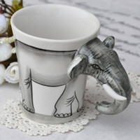 Novelty Handpainted Elephant Cerami.. on Luulla