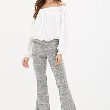 Space Dye Flared Pants - Shop All - 2000162048 - Forever 21 EU English