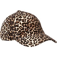 Old Navy Womens Leopard Print Baseball Caps Size One Size - Brown animal print
