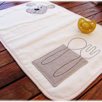 Placemat Embroidered for kids