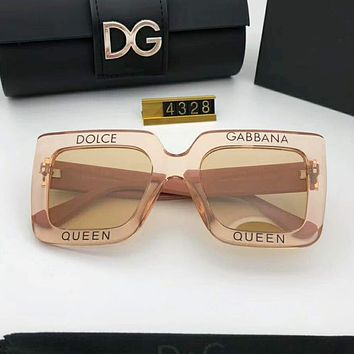 Dolce & Gabbana Fashion New Polarized Women Men Sunscreen Glasses Eyeglasses