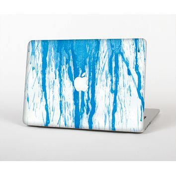 The Running Blue WaterColor Paint Skin Set for the Apple MacBook Air 11""