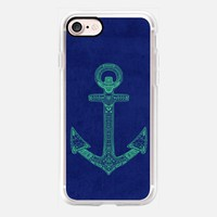 Anchor; ornate anchor iPhone 7 Case by Barruf | Casetify